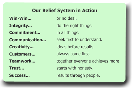 Keller Williams Belief System