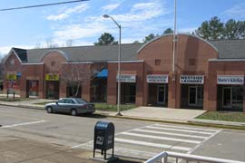 Retail Space Strip Center Downtown Chattanooga TN