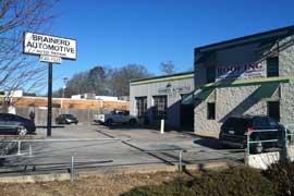Chattanooga TN, Auto Garage with Office Building, Brainerd Rd