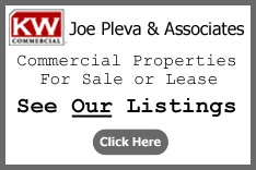 Click to see Joe Pleva's commercial property listings.
