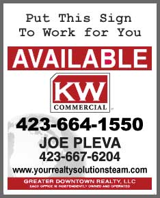 Call Joe Pleva at 423-667-6204
