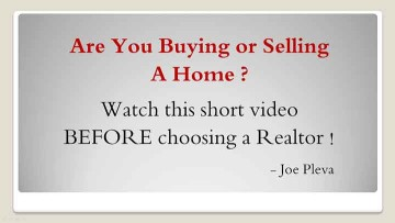 Chick to watch this video titled: Are You Buying or Selling a Home ?