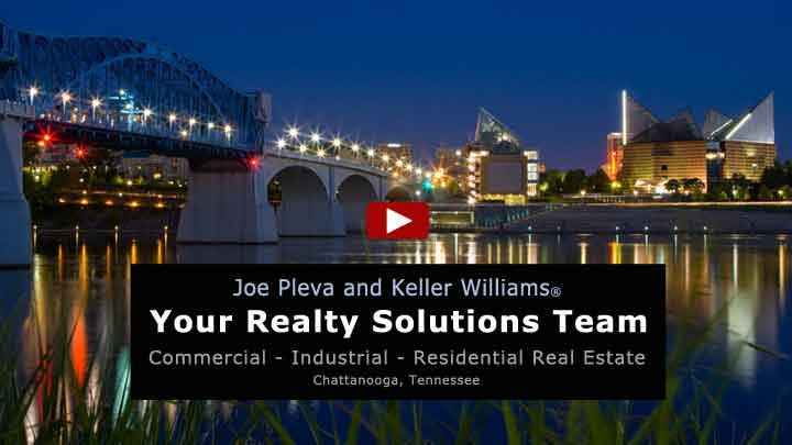 Click to watch this video: Joe Pleva, Commercial Realtor, Chattanooga, TN